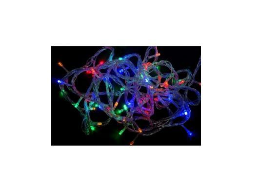 Гирлянда 180 LED, цветное свечение, прозрачный провод Новогодняя сказка 971204