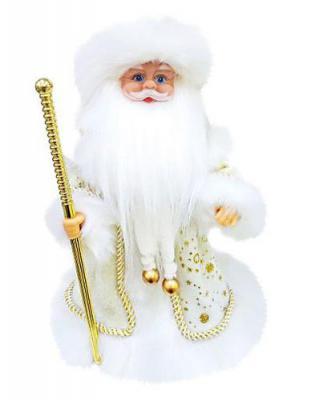 Дед Мороз Новогодняя сказка 972123 золотой 40 см 1 шт текстиль музыкальный