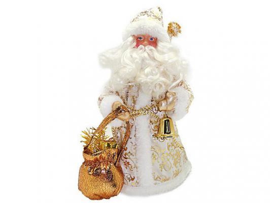 Дед Мороз Новогодняя сказка 949198 золотой 25 см 1 шт пластик