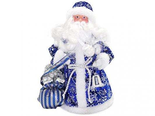 Дед Мороз Новогодняя сказка 949200 синий 25 см 1 шт пластик