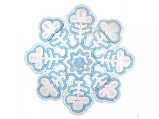 Панно бумажное Новогодняя сказка Снежинка 37 см 1 шт 972235 от 123.ru