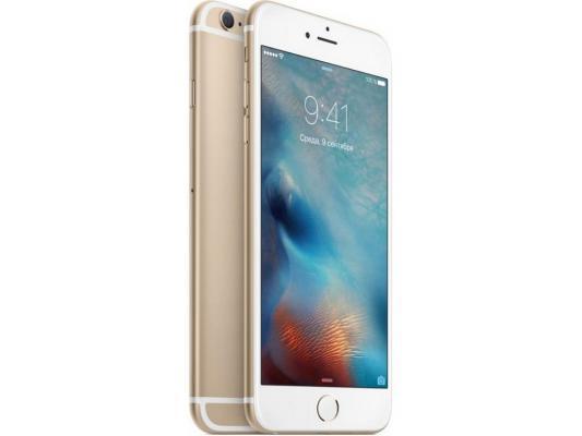 "Смартфон Apple iPhone 6S Plus золотистый 5.5"" 128 Гб NFC LTE Wi-Fi GPS"
