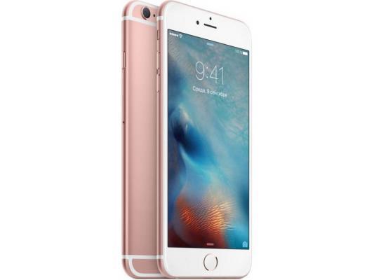 """Смартфон Apple iPhone 6S Plus розовое золото 5.5"""" 128 Гб NFC LTE Wi-Fi GPS 3G MKUG2RU/A"""
