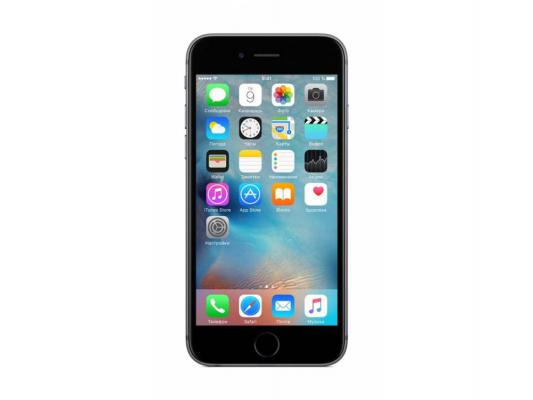"Смартфон Apple iPhone 6S серый 4.7"" 64 Гб Wi-Fi GPS 3G LTE NFC MKQN2RU/A"