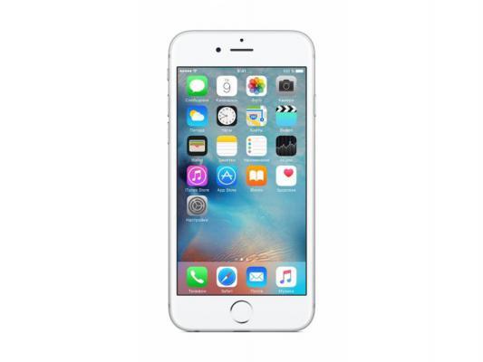 "Смартфон Apple iPhone 6S серебристый 4.7"" 64 Гб NFC LTE Wi-Fi GPS MKQP2RU/A"