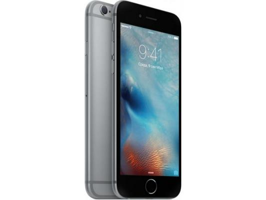 "Смартфон Apple iPhone 6S серый 4.7"" 128 Гб LTE GPS Wi-Fi NFC MKQT2RU/A"