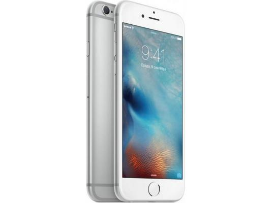 "Смартфон Apple iPhone 6S серебристый 4.7"" 128 Гб NFC LTE Wi-Fi GPS 3G MKQU2RU/A"