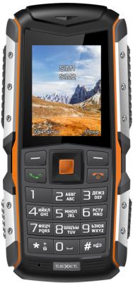 цена Мобильный телефон Texet TM-513R черный оранжевый