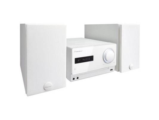 Микросистема Pioneer X-CM42BT-W 2x15Вт белый