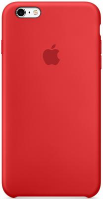 Чехол (клип-кейс) Apple Silicone Case для iPhone 6S красный MKY32ZM/A клип кейс guess silicone для apple iphone xr черный