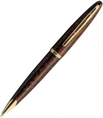 Шариковая ручка поворотная Waterman Carene Marine Amber GT синий S0700940 шариковая ручка поворотная waterman carene black sea st синий s0293950