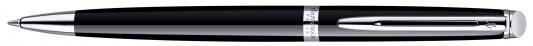 Шариковая ручка поворотная Waterman Hemisphere Mars Black CT синий M S0920570 цена и фото