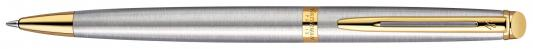 Шариковая ручка поворотная Waterman Hemisphere Steel GT синий M S0920370 шариковая ручка waterman hemisphere ombres