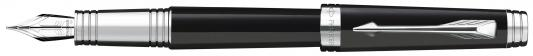 Перьевая ручка Parker Premier Laсque F560 Deep Black ST M S0887860