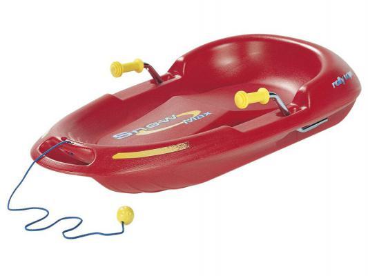 Санки Rolly Toys Snow Max 200115 до 100 кг красный пластик 18434