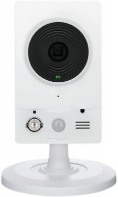 "Камера IP D-Link DCS-2103/UPA/B1A CMOS 1/4"" 1280 x 720 H.264 MJPEG RJ-45 LAN PoE белый"