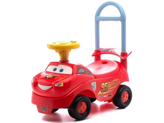 Каталка-машинка Kiddieland Тачки красный от 1 года пластик 048645 kiddieland радиоуправляемая машинка kiddieland пожарная машина