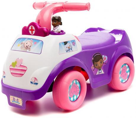 Каталка-машинка Kiddieland Доктор Макстаффин фиолетовый от 1 года пластик 051409 kiddieland радиоуправляемая машинка kiddieland пожарная машина