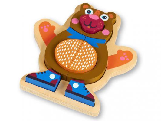 Пазл Oops Медвежонок 9 элементов O 16002.11 подвесные игрушки oops музыкальная медвежонок