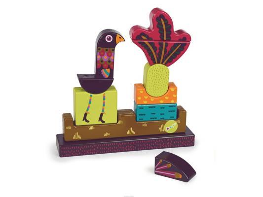 Пазл Oops Павлин на магнитах 11 элементов O 16004.14 мягкие игрушки oops игрушка павлин
