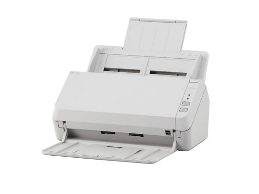 Купить со скидкой Сканер Fujitsu ScanPartner SP-1125 протяжный А4 600x600 dpi CIS 25ppm USB белый PA03708-B011