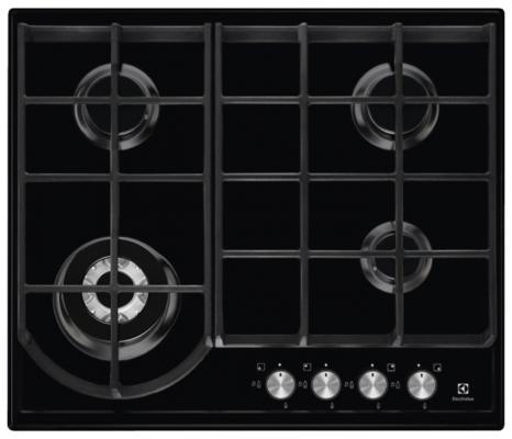 Варочная панель газовая Electrolux GPE363FB черный