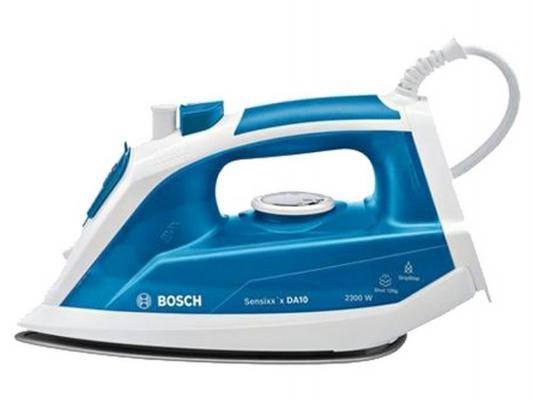 Утюг Bosch TDA 1023010 2300Вт пар.удар 120 г/мин бело-синий bosch tda 3024010 бело красный