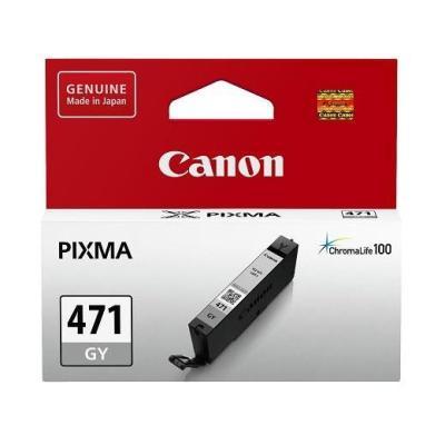 Картридж Canon CLI-471GY для Canon PIXMA MG5740 PIXMA MG6840 PIXMA MG7740 125 Серый 0404C001 картридж canon pgi 470 pgbk для canon pixma mg5740 pixma mg6840 pixma mg7740 300 черный 0375c001
