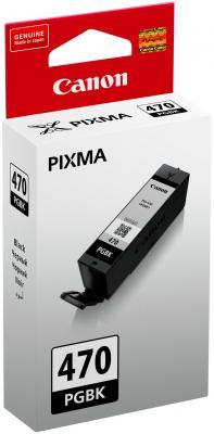 Картридж Canon PGI-470 PGBK для MG5740 MG6840 MG7740 черный 300стр 0375C001 картридж canon pgi 480 pgbk черный [2077c001]