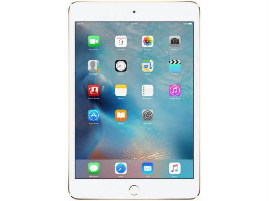"Планшет Apple iPad mini 4 64Gb 7.9"" Retina 2048x1536 A8 IOS Gold золотой MK9J2RU/A"