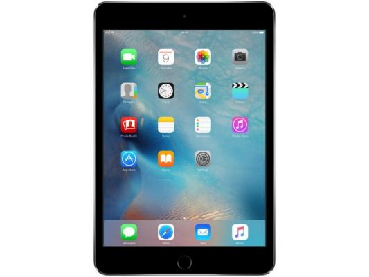 "Планшет Apple iPad mini 4 128Gb 7.9"" Retina 2048x1536 A8 IOS Space Gray серый MK9N2RU/A"