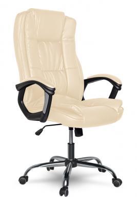 Кресло руководителя College XH-2222 кожа бежевый кресло руководителя college bx 3001 1 brown