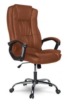 Кресло руководителя College XH-2222 кожа коричневый