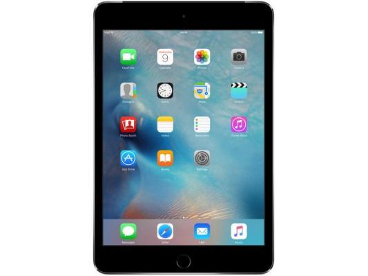 "Планшет Apple iPad mini 4 128Gb Cellular 7.9"" Retina 2048x1536 A8 GPS IOS Space Gray серый MK762RU/A"
