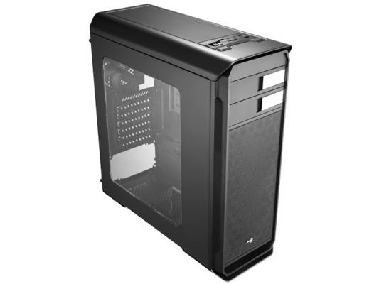 Корпус ATX Aerocool Aero-500 Window Black Edition Без БП чёрный (4713105955798) корпус atx nzxt h442 window без бп чёрный