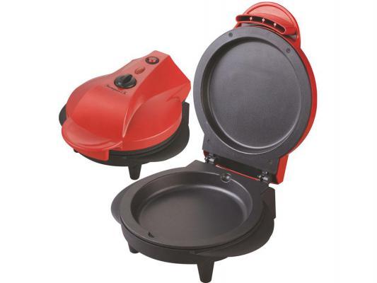 Мини-печь Великие реки Мастерица-1К красный чёрный