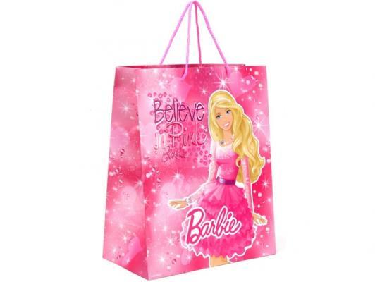 Пакет подарочный Весёлый Праздник Barbie 33x46х20 см 1 шт CLRBG-BRB-03 от 123.ru