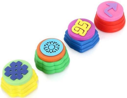 Пальчиковые краски Multi Art Disney Тачки с печатями 4 цвета 430FPS-T