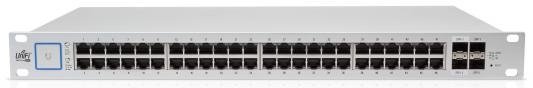 Коммутатор Ubiquiti UniFi Switch 48 500W управляемый UniFi 48 портов 10/100/1000Mbps PoE(500W) 2xSFP 2xSFP+ US-48-500W(EU)