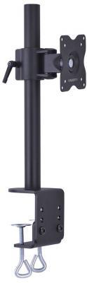 Настольное наклонно-поворотное крепление Tuarex ALTA-11 для LCD монитора 15-32 4 ст свободы черный VESA 100/100 max 10кг