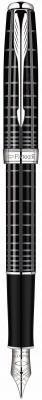 Перьевая ручка Parker Sonnet F531 Dark Grey Laquer CT 0.8 мм S0912390
