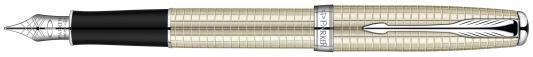 Перьевая ручка Parker Sonnet F535 Sterling Silver CT F S0912490 цена