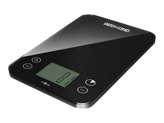 Весы кухонные Redmond RS-741S-E чёрный кухонные весы redmond rs 736 полоски