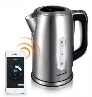 Чайник Redmond RK-M171S 2400 Вт 1.7 л металл серебристый контактные линзы johnson & johnson 1 day acuvue moist 90 линз 8 5 5