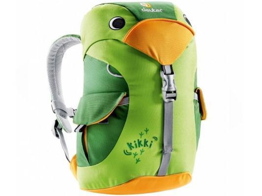 Рюкзак Deuter KIKKI 6 л изумрудный зеленый 36093-2206 рюкзак детский deuter deuter детский рюкзак kikki magenta blackberry