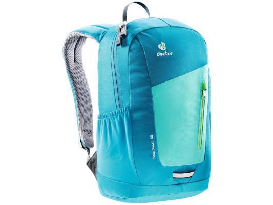 Городской рюкзак Deuter STEPOUT 12 12 л зеленый синий 3810215-2307 городской рюкзак deuter futura 20 sl 20 л фиолетовый розовый 34194 3503