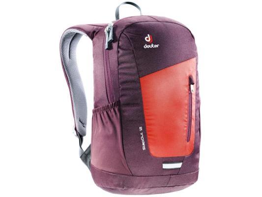 Городской рюкзак Deuter StepOut 12 12 л оранжевый бордовый 3810215-5513 рюкзак городской 3d bags оранжевое настроение цвет оранжевый синий 17 л