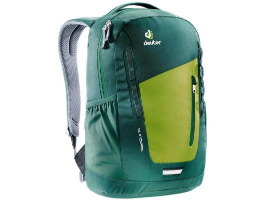 Городской рюкзак Deuter STEPOUT 16 16 л зеленый желтый 3810315-2219