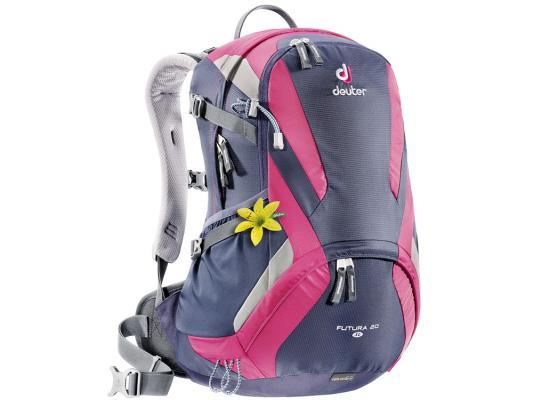 Городской рюкзак Deuter Futura 20 SL 20 л фиолетовый розовый 34194 -3503 велорюкзак deuter 2015 aircomfort futura 24 sl papaya lava 34224 9503