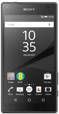 Смартфон SONY Xperia Z5 Compact графит черный 4.6 32 Гб NFC LTE GPS Wi-Fi E5823